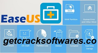 EaseUS Data Recovery Wizard 13.5.0 Crack + License Key Free Download 2021